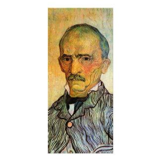 Retrato de Trabuc, asistente - Vincent van Gogh Lona