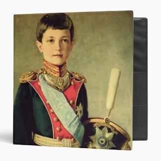"""Retrato de Tsarevitch Alexei Nikolaevich; Carpeta 1 1/2"""""""