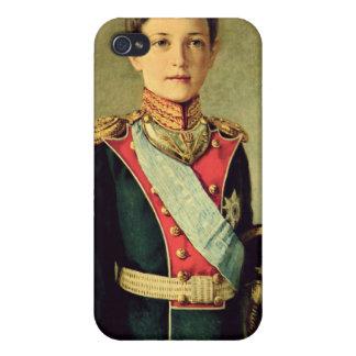 Retrato de Tsarevitch Alexei Nikolaevich; iPhone 4 Carcasa