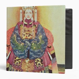 Retrato de Tzu el suyo, la viuda de emperatriz
