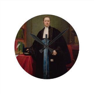 Retrato de un abogado en su biblioteca, 1852 (acei relojes de pared