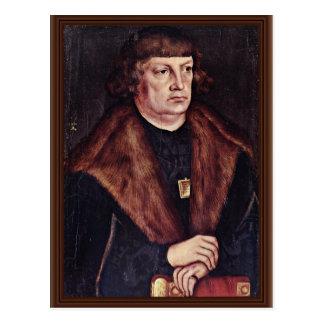 Retrato de un alcalde Of Weissenfels By Cranach D. Postal