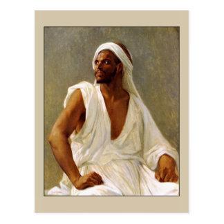 Retrato de un árabe por Cabanel Tarjetas Postales