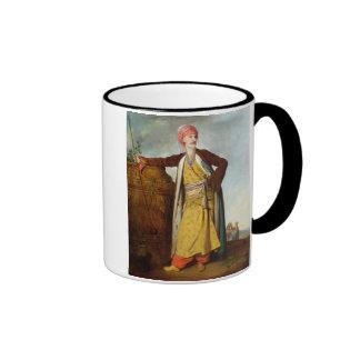 Retrato de un armenio, 1771 (aceite en lona) taza de dos colores