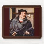 Retrato de un arquitecto de Westfälischer Meister Tapetes De Ratones