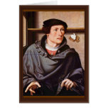 Retrato de un arquitecto de Westfälischer Meister Tarjetas