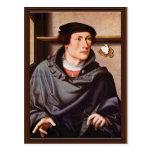 Retrato de un arquitecto de Westfälischer Meister Tarjetas Postales