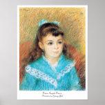 Retrato de un arte de Pedro Auguste Renoir de la c Impresiones