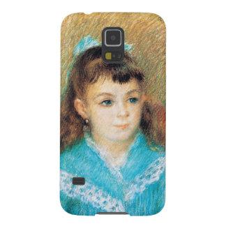 Retrato de un arte de Pedro Auguste Renoir de la Funda Galaxy S5