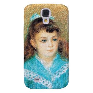 Retrato de un arte de Pedro Auguste Renoir de la Funda Samsung S4