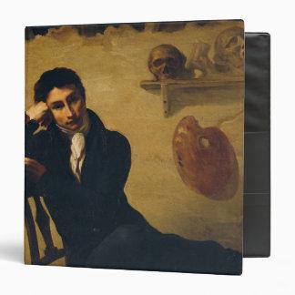 """Retrato de un artista en su estudio carpeta 1 1/2"""""""
