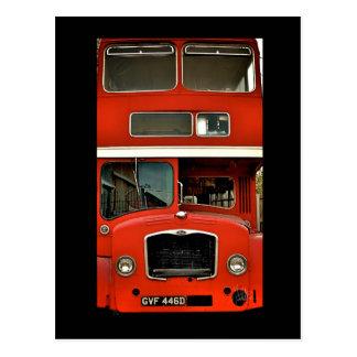 Retrato de un autobús de dos pisos [postal]