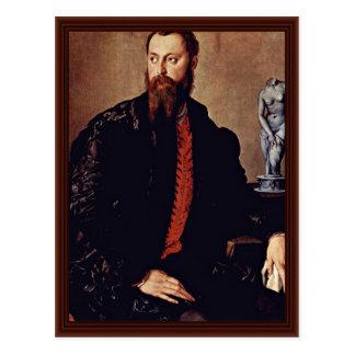 Retrato de un caballero de Bronzino Ángel Postales