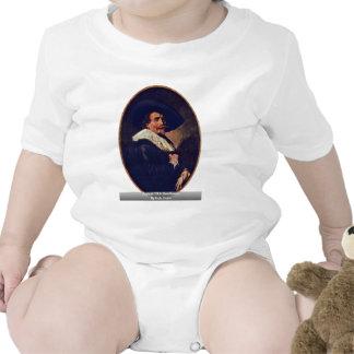 Retrato de un caballero de Hals Francisco Trajes De Bebé