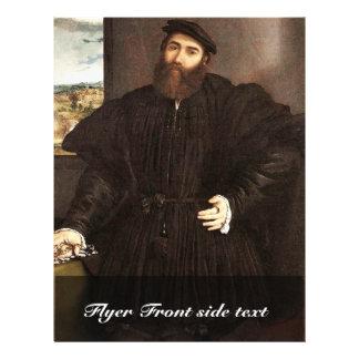 "Retrato de un caballero por la loteria Lorenzo (el Folleto 8.5"" X 11"""
