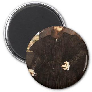 Retrato de un caballero por la loteria Lorenzo (el Imán Para Frigorífico