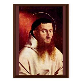 Retrato de un cartujo de Christus Petrus Postales