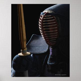 Retrato de un cercador 6 de Kendo Posters