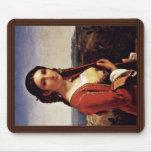 Retrato de un chica de Retuna de Roberto Léopold ( Alfombrillas De Raton