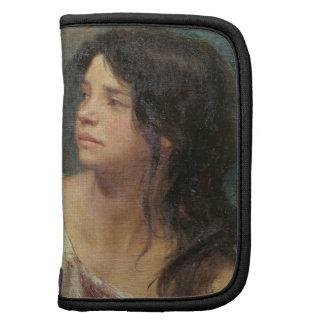 Retrato de un chica oscuro-haired, 1867 planificadores