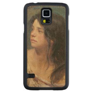 Retrato de un chica oscuro-haired, 1867 funda de galaxy s5 slim arce