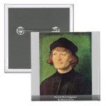 Retrato de un clérigo de Albrecht Dürer Pins