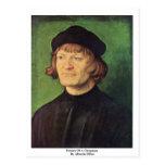 Retrato de un clérigo de Albrecht Dürer Postales