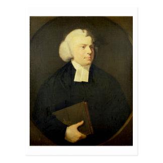 Retrato de un clérigo tarjeta postal