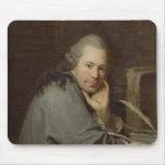 Retrato de un escritor, 1772 tapetes de ratón