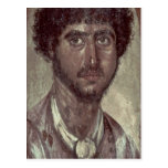 Retrato de un Griego, de Fayum, Romano-Egipcio, Postal