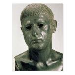 Retrato de un guerrero romano desconocido, ANUNCIO Postales