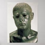 Retrato de un guerrero romano desconocido, ANUNCIO Póster