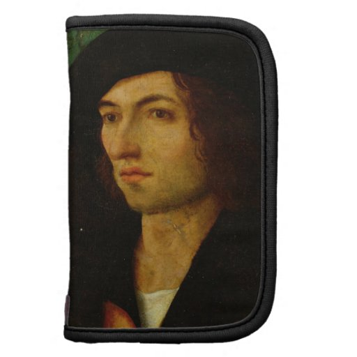 Retrato de un hombre, 1506 (aceite en el panel) organizadores