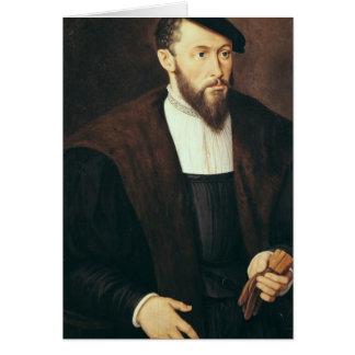 Retrato de un hombre 1549 tarjetas