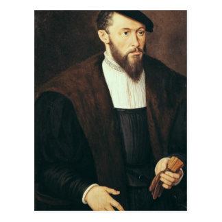 Retrato de un hombre 1549 tarjetas postales