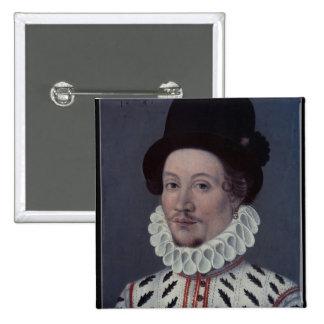 Retrato de un hombre, 1575 pin cuadrado