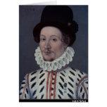 Retrato de un hombre, 1575 tarjeta de felicitación