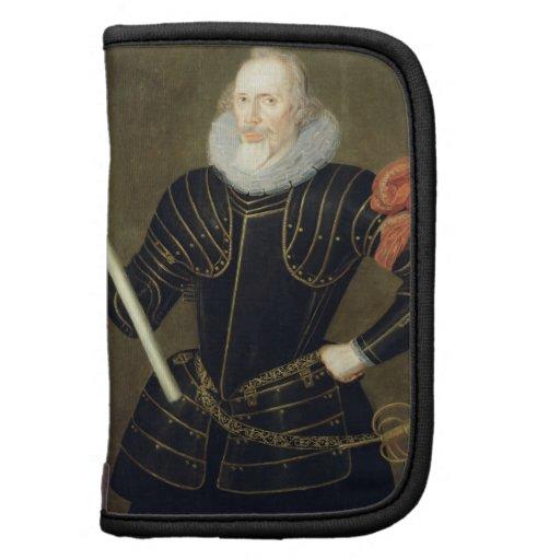 Retrato de un hombre, 1593 (aceite en el panel) organizador