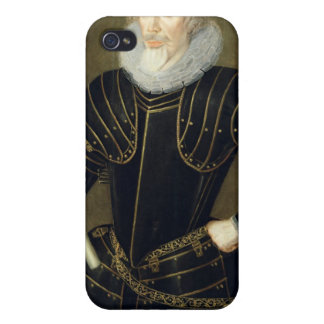 Retrato de un hombre, 1593 (aceite en el panel) iPhone 4 carcasa