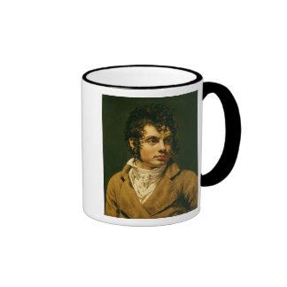 Retrato de un hombre 2 taza