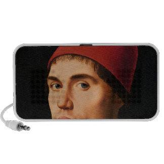 Retrato de un hombre, c.1475 laptop altavoz
