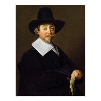 Retrato de un hombre, c.1643-45 tarjeta postal