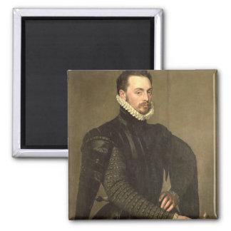 Retrato de un hombre del Retinue de Gra cardinal Imán De Frigorifico