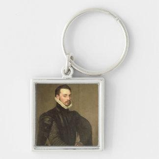 Retrato de un hombre del Retinue de Gra cardinal Llavero