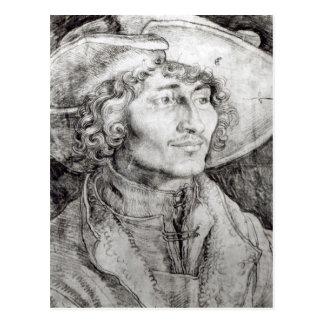 Retrato de un hombre desconocido, 1521 postal