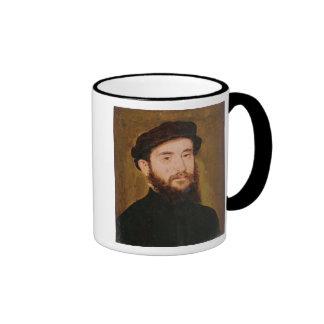 Retrato de un hombre desconocido 2 taza