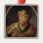 Retrato de un hombre en el traje oriental, 1633 adorno de navidad