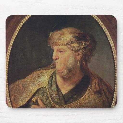 Retrato de un hombre en el traje oriental, 1633 alfombrilla de raton