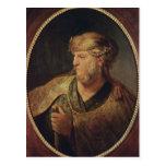 Retrato de un hombre en el traje oriental, 1633 tarjeta postal