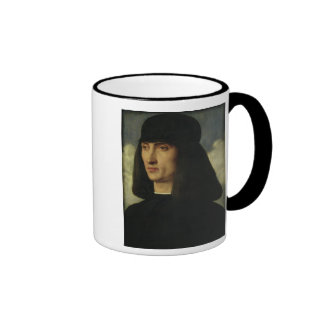 Retrato de un hombre joven, c.1500 taza de café